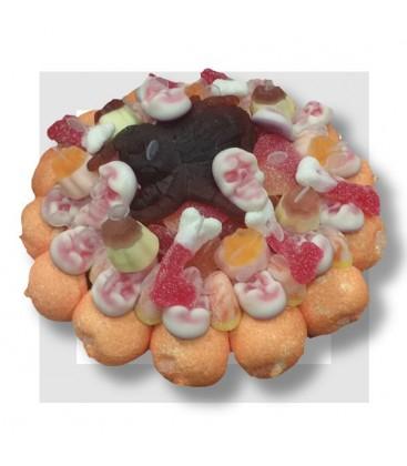 MYGALIS HORRIBILIS gâteau de bonbons.