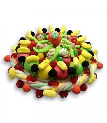La ronde des fruits - gâteau de bonbons