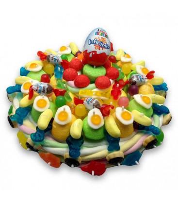 Gâteau de bonbon KINDER
