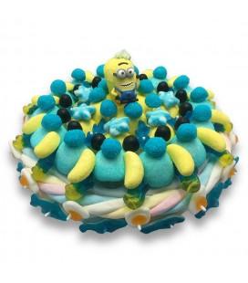 Gâteau de bonbon minion