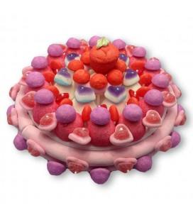 Love - livraison d'un Gâteau de bonbons