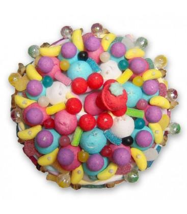 Le sac de bille - livraison d' un Gâteau de bonbon