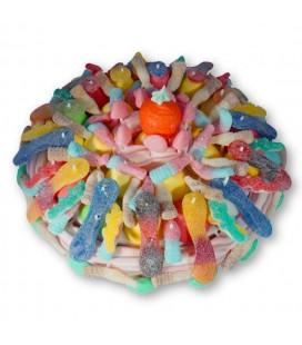 L'Acidulé - Grand gâteau de bonbons
