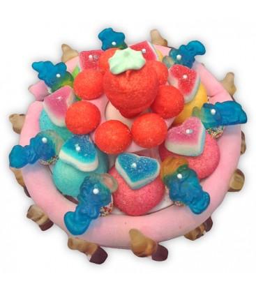 Gateau de bonbons Gabriel -livraison à la maison ou en point relais.