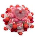 Le Gâteau de bonbon Saint-Valentin