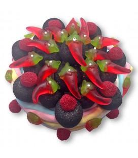 Espelette- Gâteau de bonbons au piment