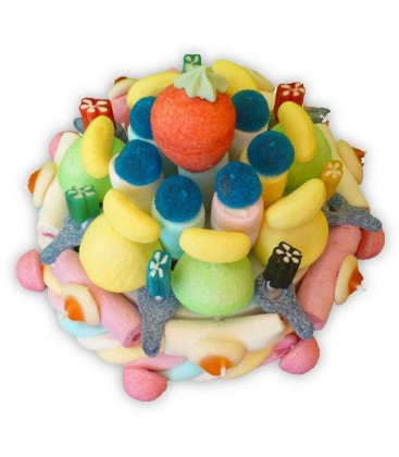 Petit Gâteau plaisir à deux - tout en bonbons