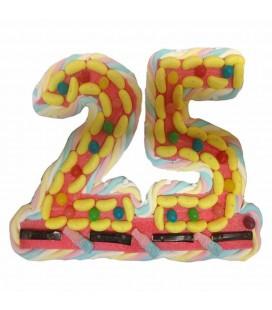 Les Nombres au choix en bonbons