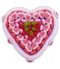Le Cœur cerise - livraison d'une composition de bonbon