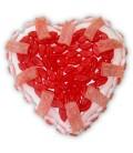 Cœur Bonbon Rouge Rose à envoyer