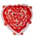 Cœur bisous - Composition de bonbons