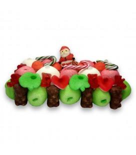 Bûche de Noël en Bonbon