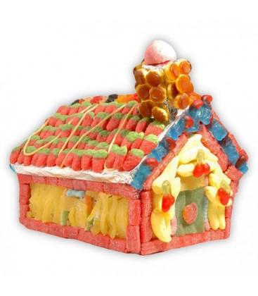 La petite maison dans la prairie - gâteau de bonbons