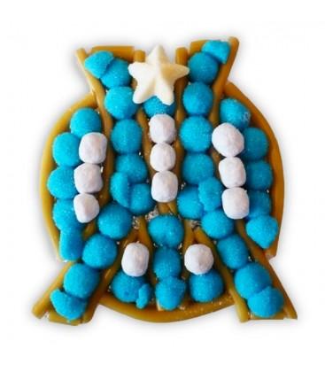 Logo OM - Composition de bonbons