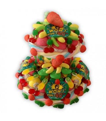 Pièce montée en bonbons - personnalisable