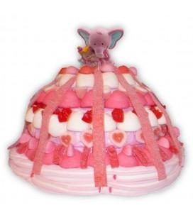 Kascabelle - Pièce montée de bonbons pour une naissance