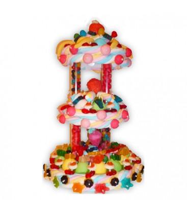Le Carrousel Des Gourmands - Pièce Montée de bonbons