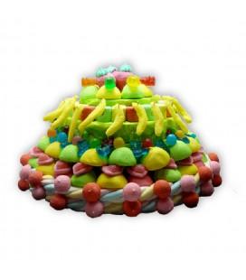 La fontaine jamaïcaine- pièce montée de bonbons