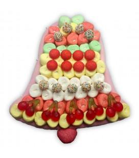 Cloche de pâques -composition de bonbons