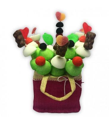 Le Panier Douceur - bouquet de bonbons