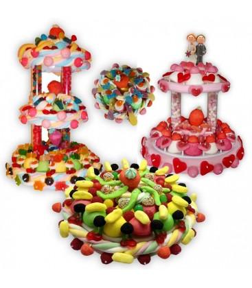 Les trois Mousquetaires- Candy-bar pour mariage