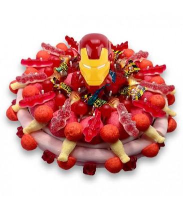 Gâteau de bonbon Iron Man