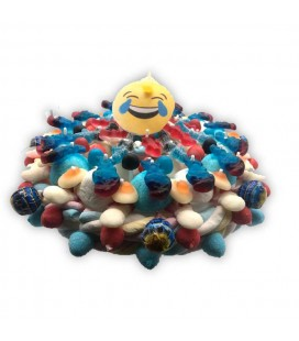 MDR-Le gâteau de bonbons pour anniversaire