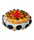 Démoniaque -Grand Gâteau de bonbons d'Halloween