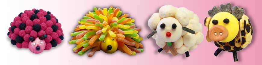 Les animaux en bonbons