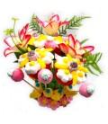 Bouquets de fleurs en bonbons