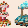 Des pièces montées en bonbons
