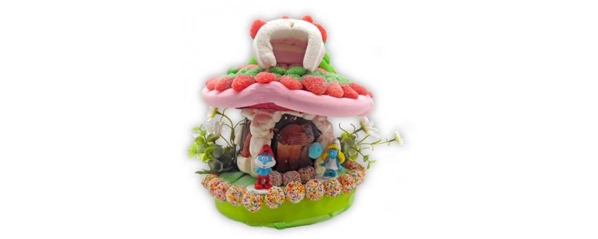 Une imagination sans limite pour vos gâteaux de bonbons